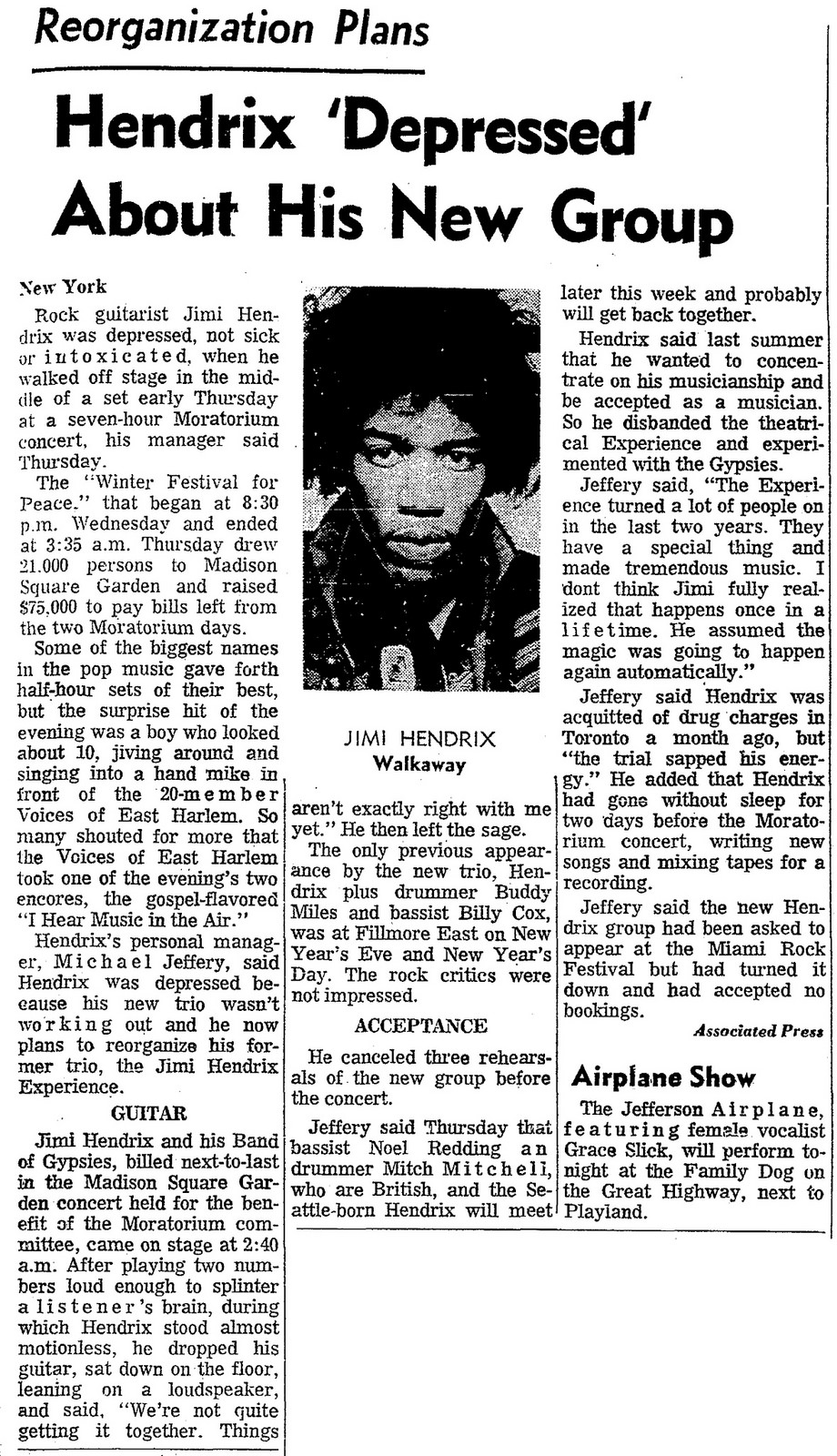 New York (Madison Square Garden) : 28 janvier 1970  - Page 2 Winter10