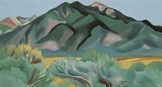 Georgia O'Keeffe; peintre américaine Georgi10