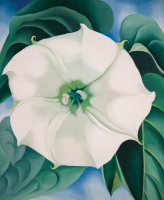 Georgia O'Keeffe; peintre américaine Okeeff10