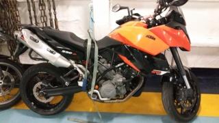 Vacances en Corse et embarquement moto 20160410