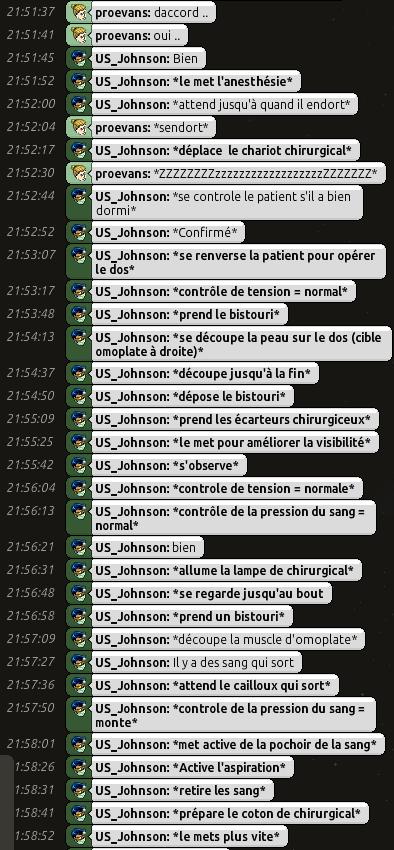 [C.H.U] Rapports d'actions RP de US_Johnson 0410