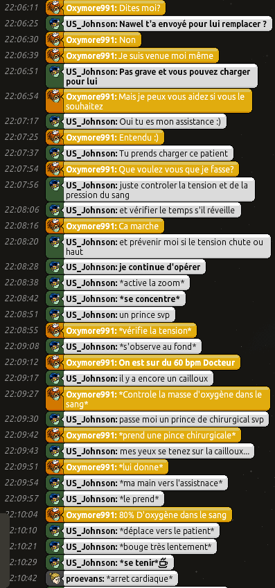 [C.H.U] Rapports d'actions RP de US_Johnson 0610