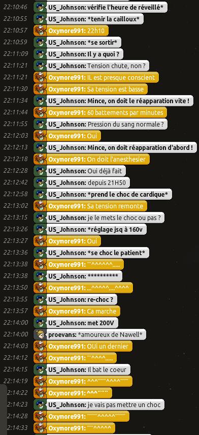 [C.H.U] Rapports d'actions RP de US_Johnson 0710
