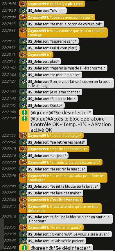 [C.H.U] Rapports d'actions RP de US_Johnson 0910