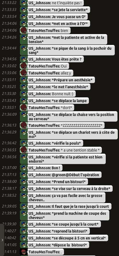 [C.H.U] Rapports d'actions RP de US_Johnson O0210