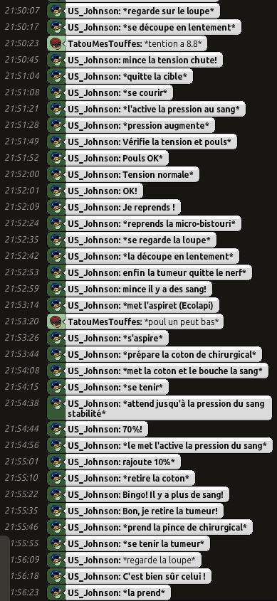 [C.H.U] Rapports d'actions RP de US_Johnson O0410