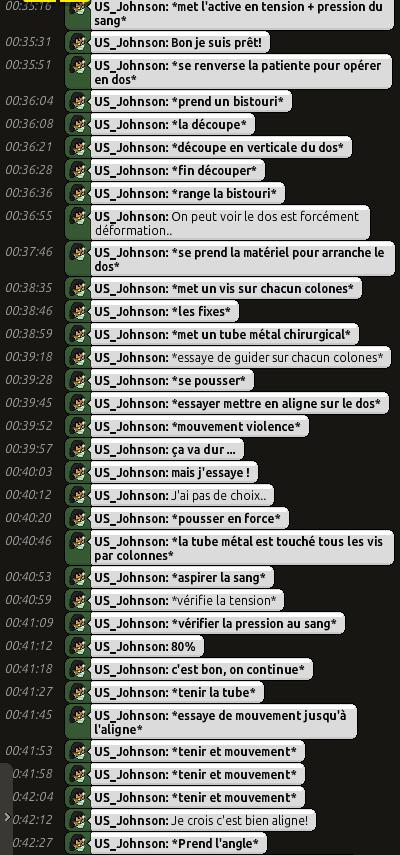 [C.H.U] Rapports d'actions RP de US_Johnson Rp0212