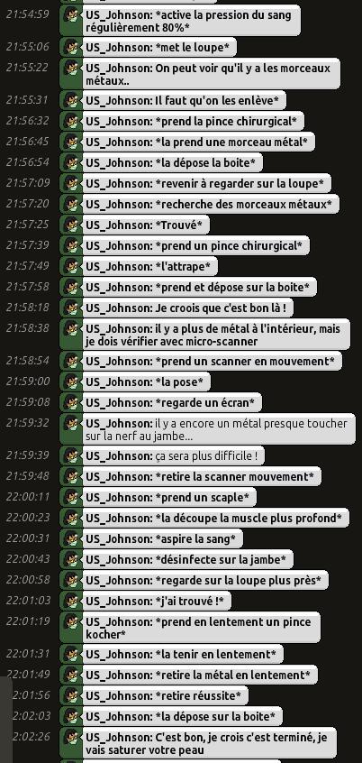[C.H.U] Rapports d'actions RP de US_Johnson Rp0311