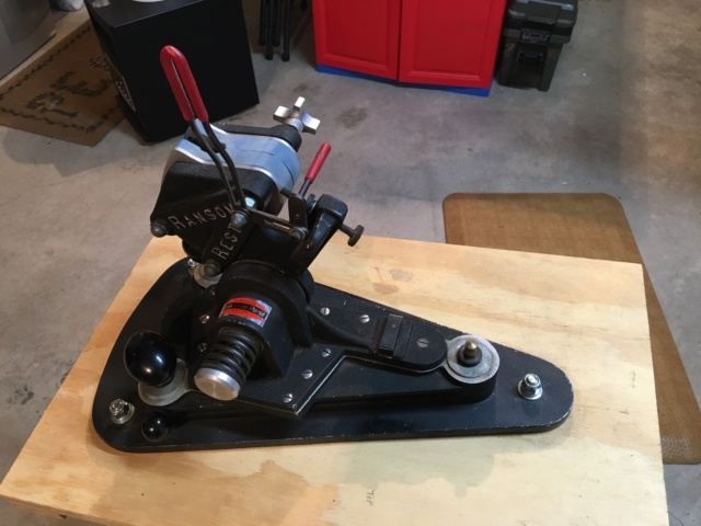 Ransom Rest w/ Windage Base & 2 Inserts  - $435 Sold Pending Funds Img_5114