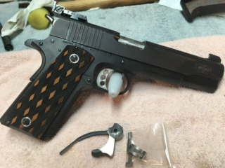 Sold Pending Funds - George Madore Hardball 1911,  with KC Roll Trigger & Madore Crisp Trigger $1,000  OBO plus shipping M110