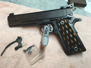 Sold Pending Funds - George Madore Hardball 1911,  with KC Roll Trigger & Madore Crisp Trigger $1,000  OBO plus shipping M210