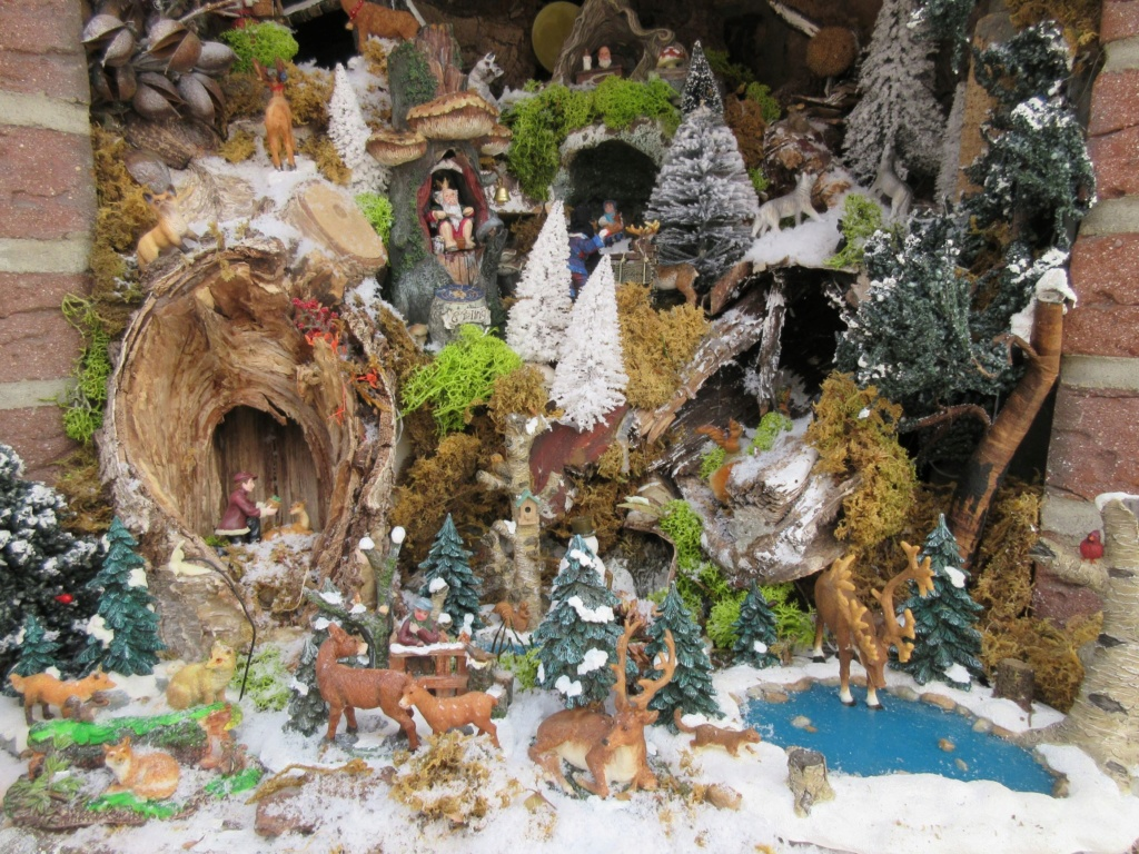 Ebauche village de Noël 2018 Fabipat Atre_n12