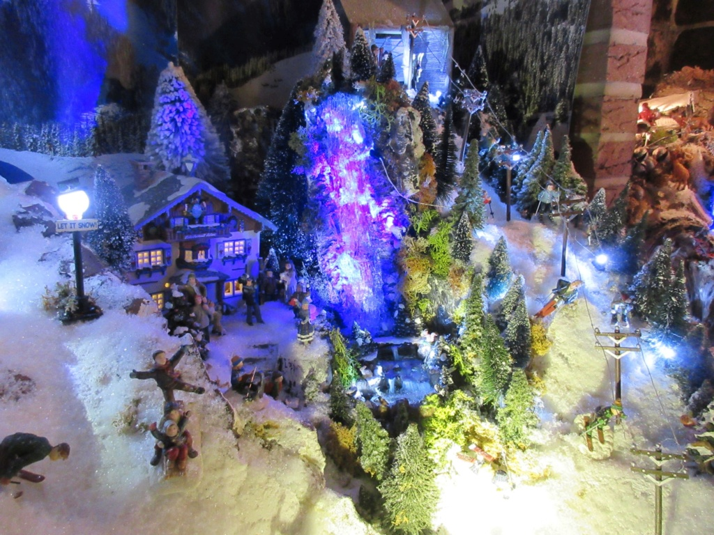 Ebauche village de Noël 2018 Fabipat Illumi11