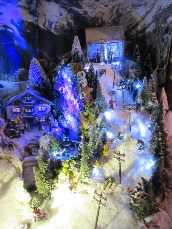 Ebauche village de Noël 2018 Fabipat Illumi12