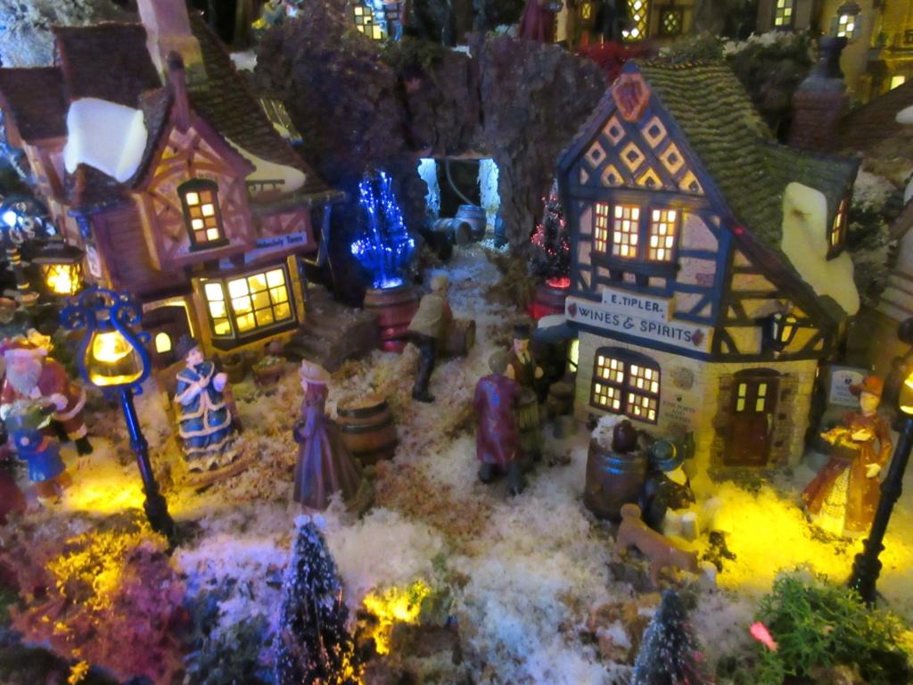 Ebauche village de Noël 2018 Fabipat Illumi14