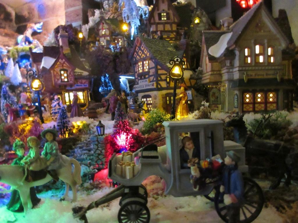 Ebauche village de Noël 2018 Fabipat Illumi17