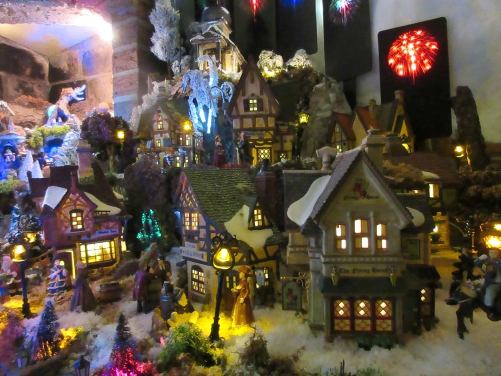 Ebauche village de Noël 2018 Fabipat Illumi20