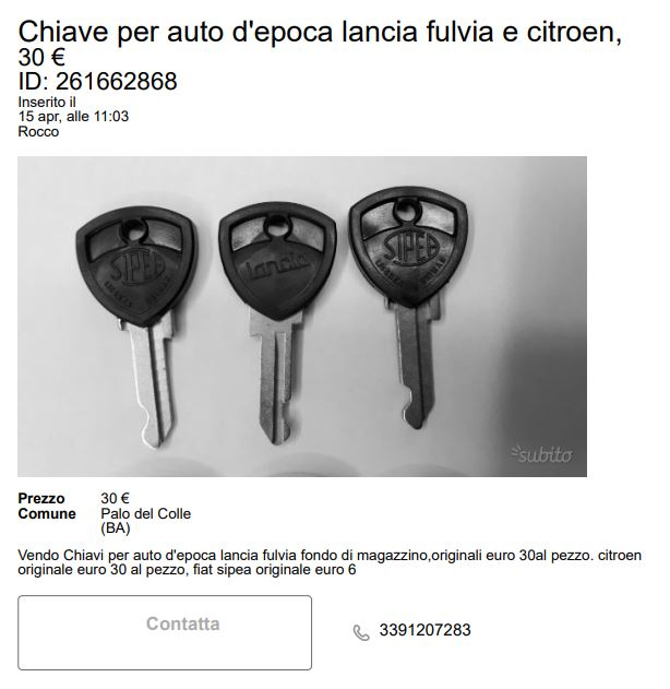 Chiave Sipea Cattur13