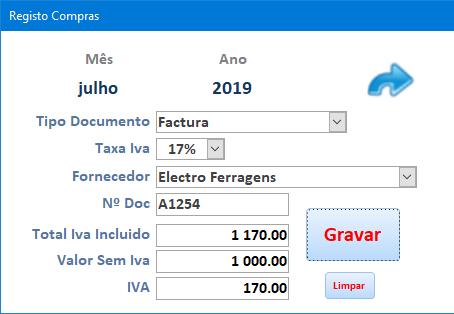 [Resolvido]Calculos - Base de incidência de valor com IVA Anibal13