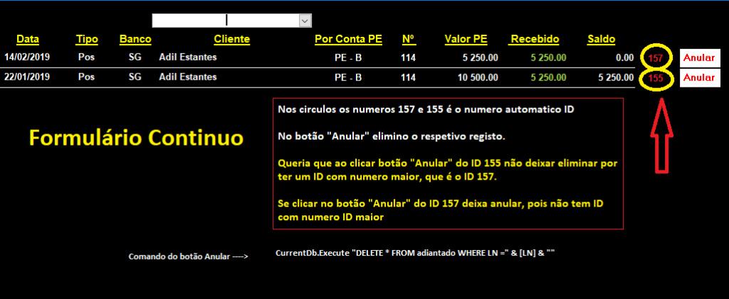 [Resolvido]Eliminar em um formulário Continuo o ID com o numero maior Asem_t11