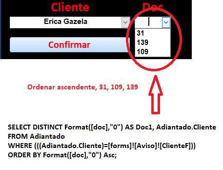 [Resolvido]Ordenar Caixa de Combinação Tipo número Asem_t14