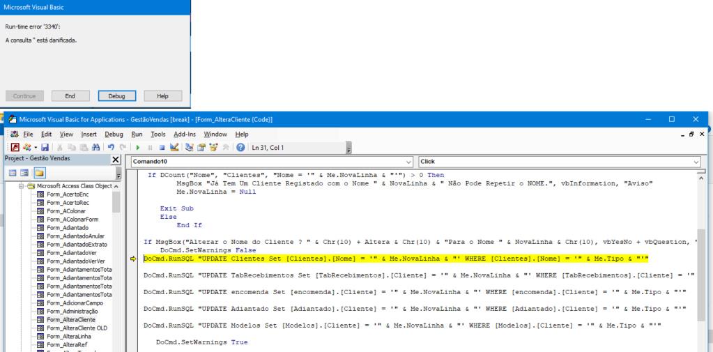 Error 3340 | Consulta Corrompida | Atualização do Windows  Erro11