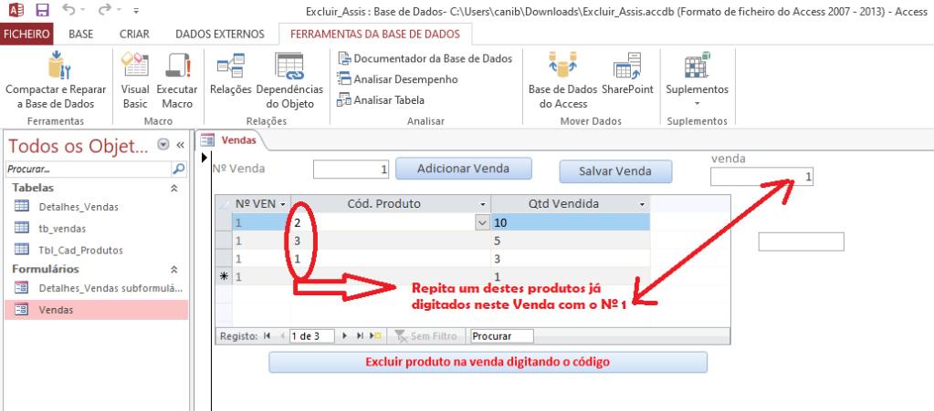 [Resolvido]Código para excluir um único registro em uma tabela com registros duplicados Sem_t130