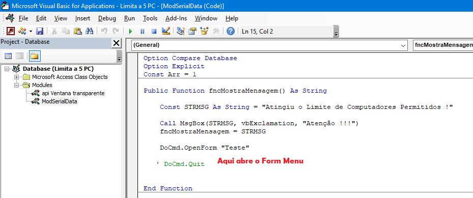 Limitar registos em tabela. Alteração de tópico antigo Sem_t137