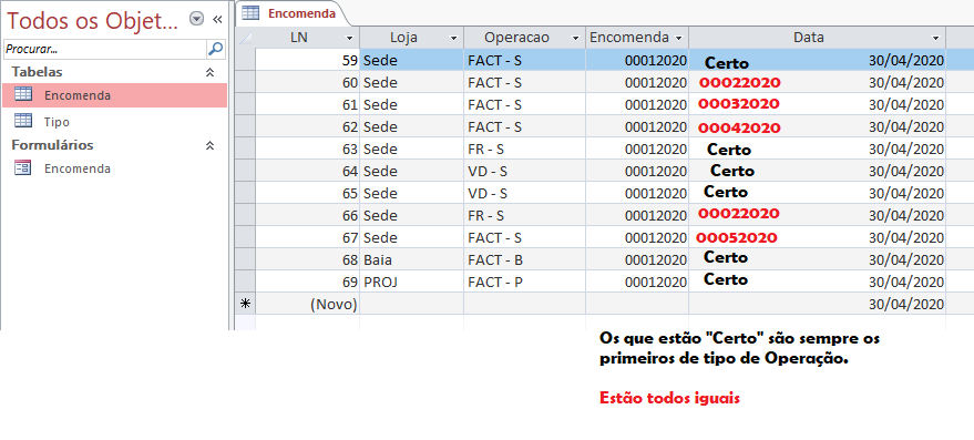 [Resolvido]Numeração numero ano tipo 00012020. Sem_t140