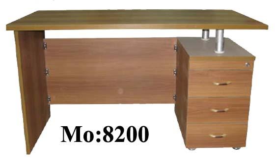 مكتب موظف خشب 3 درج 120سم Aaoo2a11