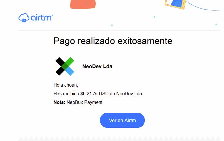 [PAGANDO] NEOBUX - Refback 80% - Mínimo 2$ - SEGUNDA OFERTA - PAG. REC # 1 - Página 2 Neo110