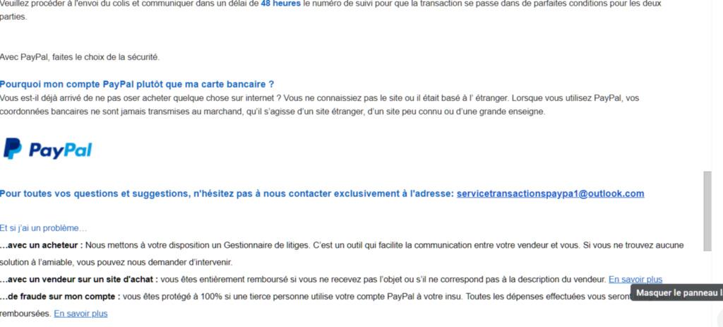 Phishing PayPal  Firesh42