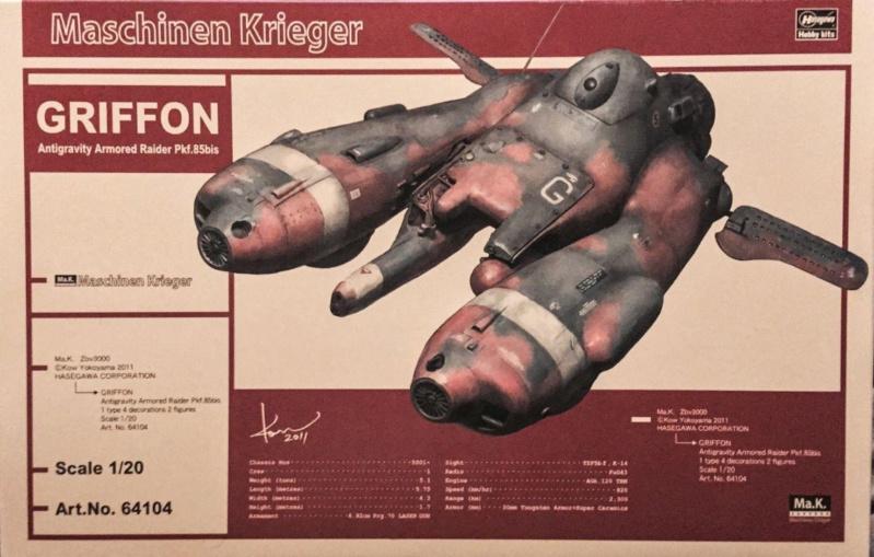 "Machinen Krieger. 1/20 Haségawa. "" Fini "". 012"
