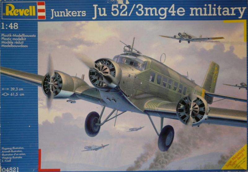 """Ju 52. Revell 1/48. """"Ende"""". 014"""