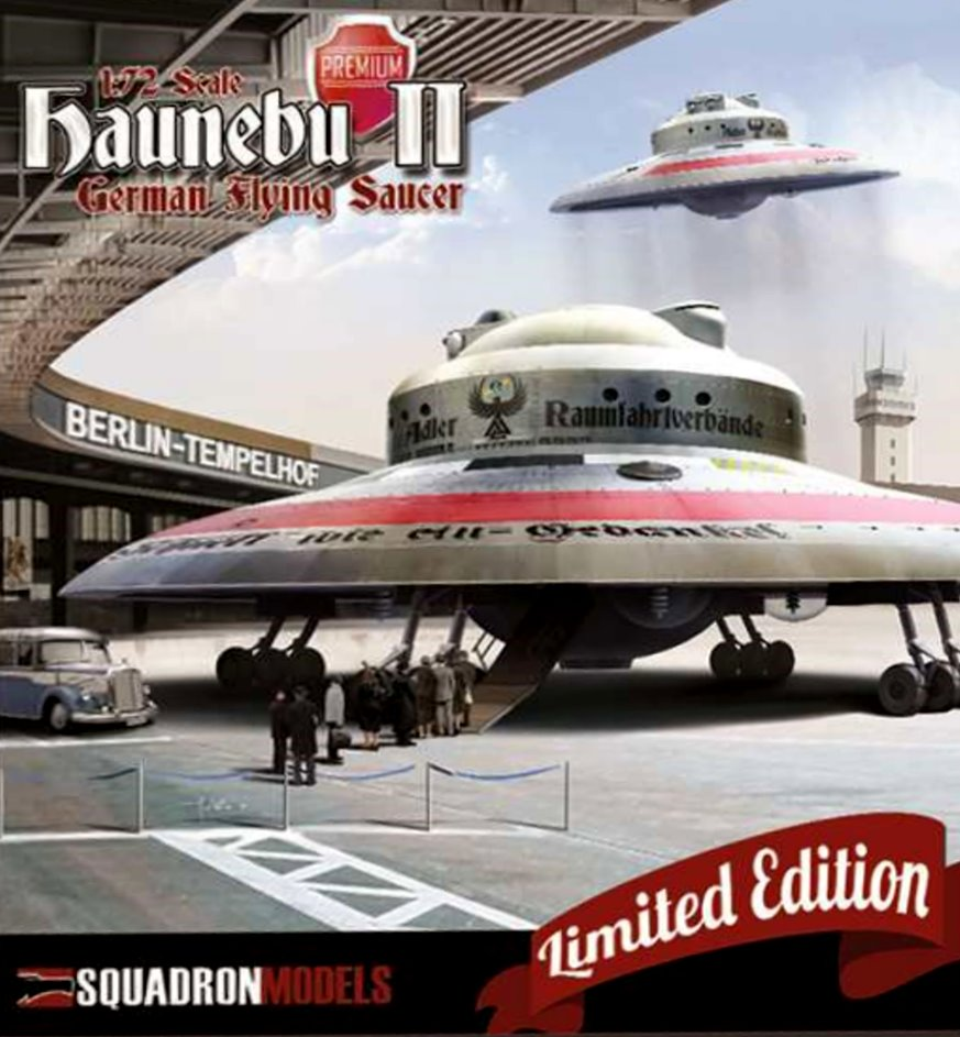 HAUNEBU II (civil) - Squadron Model  1/72. Fini . 015
