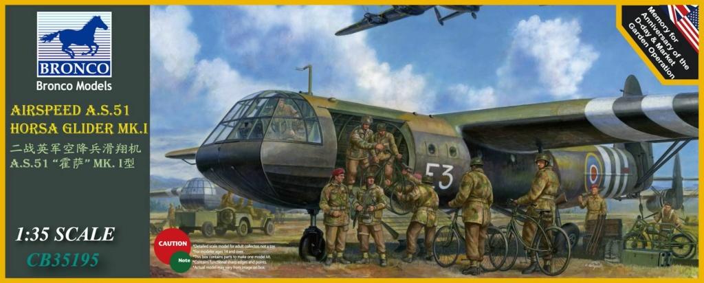 Airspeed A.S.51 Horsa Glider Mk.1 (Bronco 1/35°) : Peinture 026