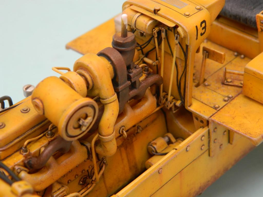 "BULLDOZER CATERPILLAR DH-8. AMT 1/25. ""Peinture du châssis"" . - Page 6 11111"
