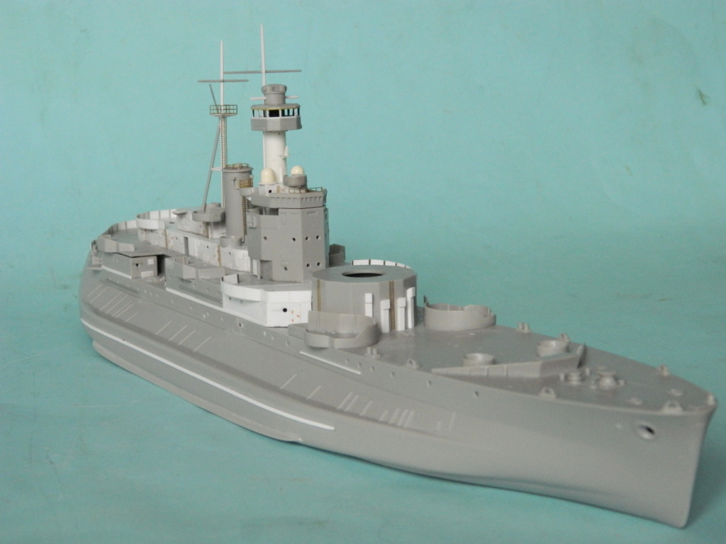 HMS Abercrombie Monitor. 1/350Trumpeter. 1229