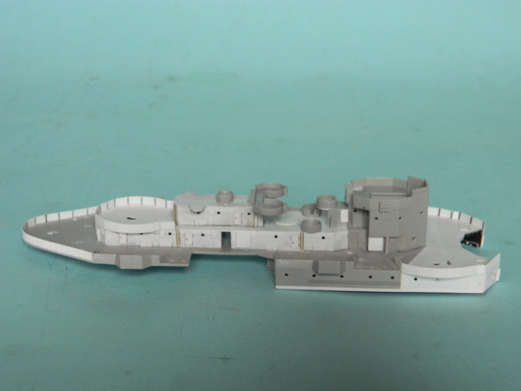 HMS Abercrombie Monitor. 1/350Trumpeter. 140