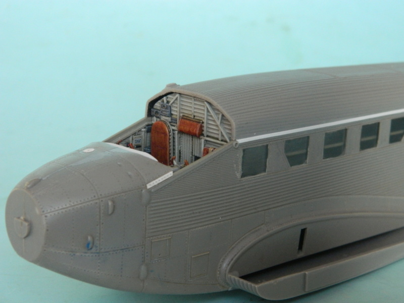 """Ju 52. Revell 1/48. """"Ende"""". - Page 2 1424"""