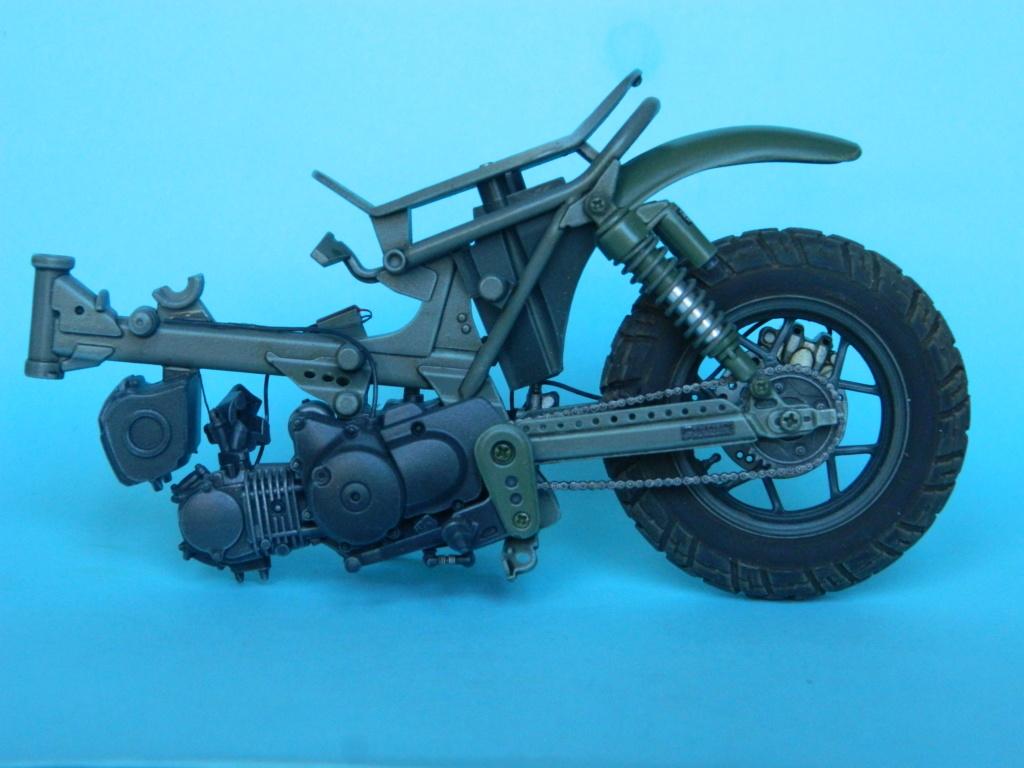Monkey 125 Honda. Tamiya 1/12. Terminé . 1722