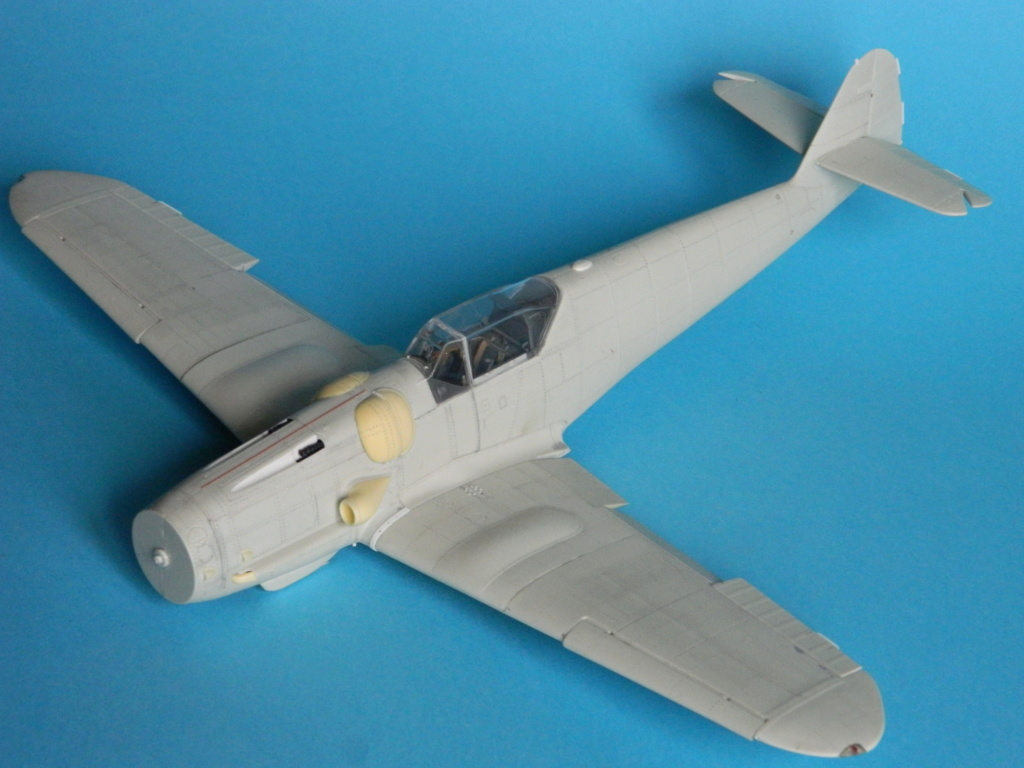 Messerschmitt Bf.109 G14. Revell 1/32. Ende. 1820
