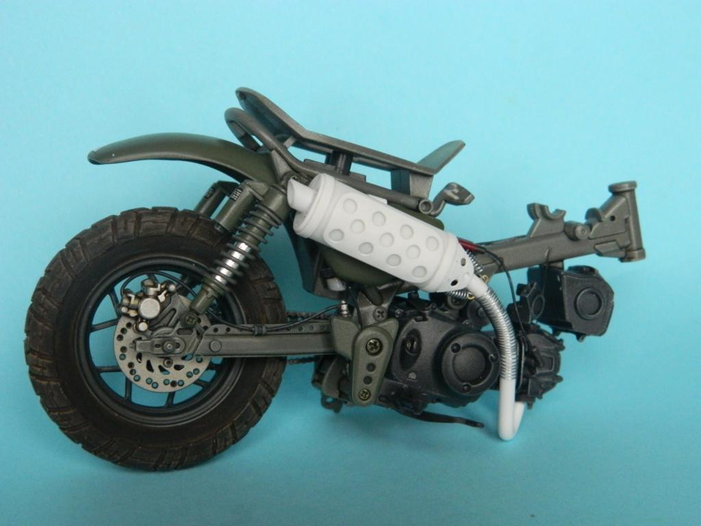 Monkey 125 Honda. Tamiya 1/12. Terminé . 2120
