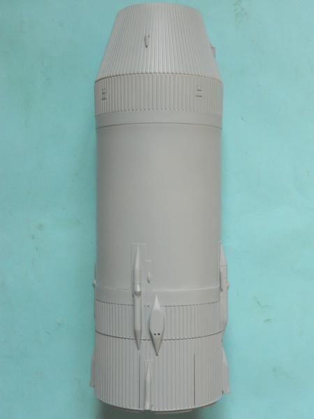 "APOLLO 11. AS-506. ""Peinture des moteurs F-1 "". 2817"