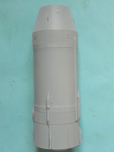 "APOLLO 11. AS-506. ""Peinture des moteurs F-1 "". 2917"