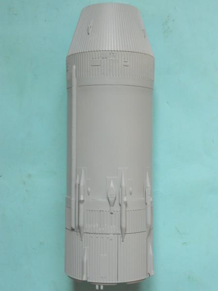 "APOLLO 11. AS-506. ""Peinture des moteurs F-1 "". 3017"