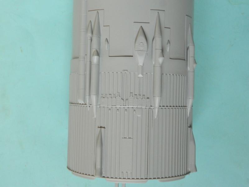 "APOLLO 11. AS-506. ""Peinture des moteurs F-1 "". 3217"