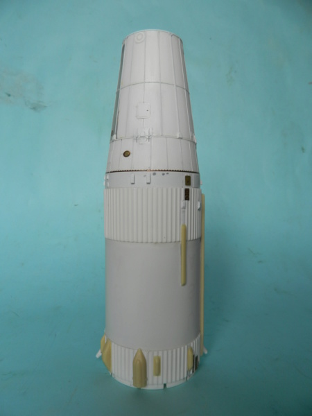 "APOLLO 11. AS-506. ""Peinture des moteurs F-1 "". 3418"