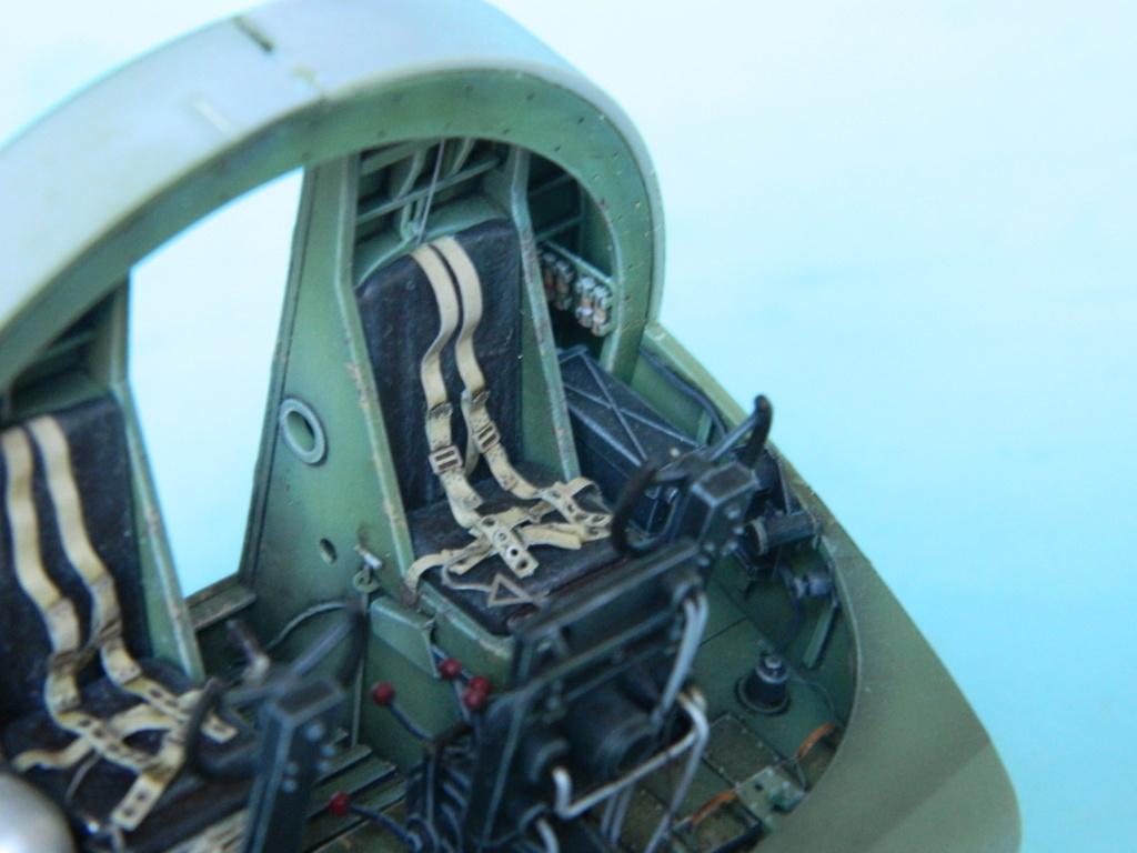 A.S.51 HORSA  Mk.1.  Bronco 1/35. Fermeture du fuselage. 3524