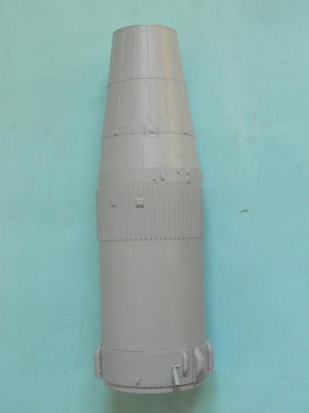 "APOLLO 11. AS-506. ""Peinture des moteurs F-1 "". 3817"